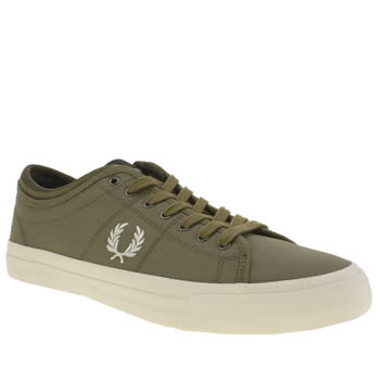 Fred Perry Khaki Kendrick Trainers