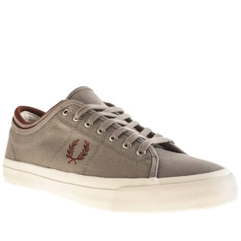 Fred Perry Grey Kendrick Trainers