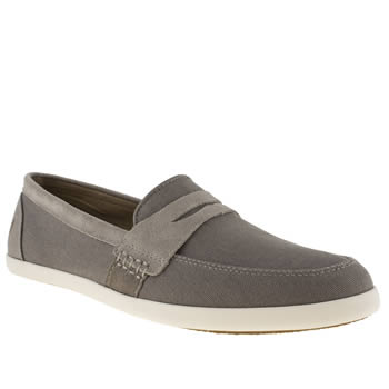 Fred Perry Grey Halstead Trainers