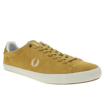 Fred Perry Yellow Howells Trainers