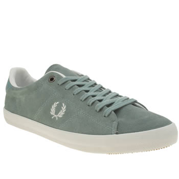Fred Perry Pale Blue Howells Trainers