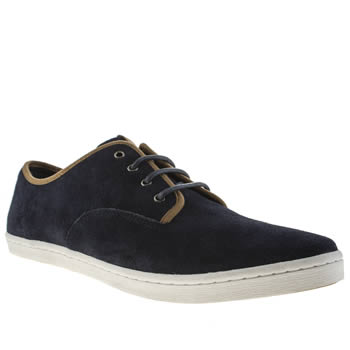 Mens Fred Perry Navy Hunt Trainers