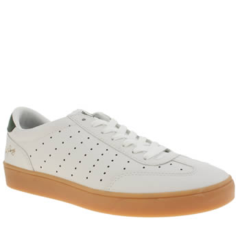 Fred Perry White Umpire Trainers