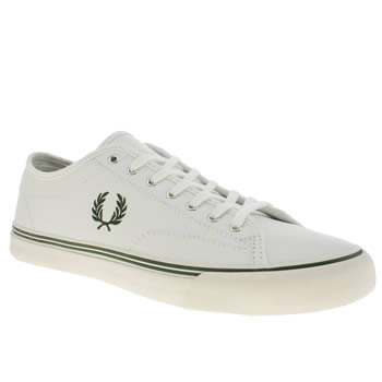 Fred Perry White Lester Trainers