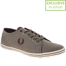 Grey Fred Perry Kingston Twill