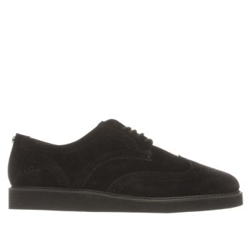 Fred Perry Black Newburgh Brogue Shoes