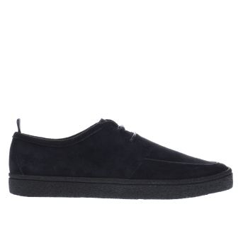 Fred Perry Navy Shields Crepe Trainers