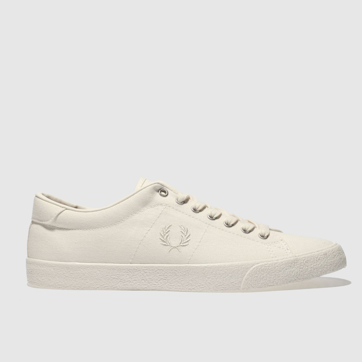 Fred Perry White Underspin Trainers