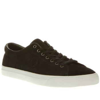 Fred Perry Midnight Green Underspin Mens Trainers