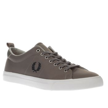Fred Perry Grey Underspin Nylon Trainers