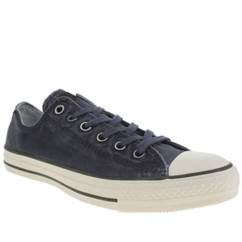 Converse Navy Better Wash Oxford Trainers