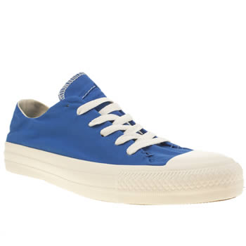 Converse Blue Sawyer Oxford Trainers