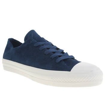 Converse Navy Sawyer Ox Trainers