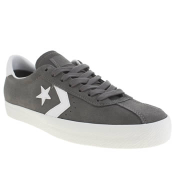 Mens Converse Dark Grey Break Point Trainers