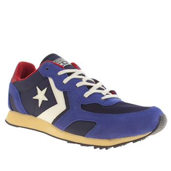 Converse Blue Auckland Racer Trainers