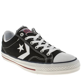 Converse Black & White Star Player Re-mastered Mens Trainers
