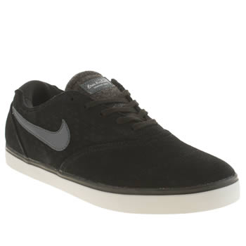 Mens Nike Black & Grey Eric Koston 2 Lr Trainers