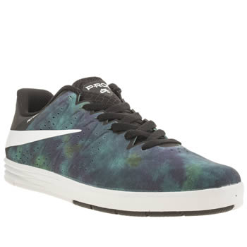Nike Skateboarding Black and blue Paul Rodriguez Trainers