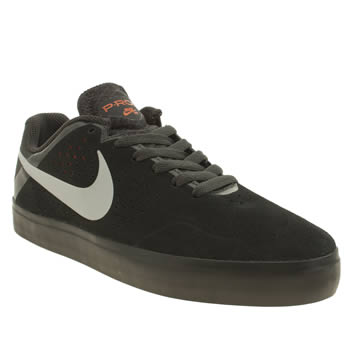 Nike Skateboarding Black & Grey Paul Rodriguez Citadel Trainers
