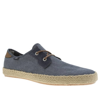 Mens Vans Blue Michoacan Esp Trainers