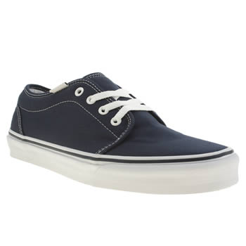 Mens Vans Navy 106 Vulc Trainers