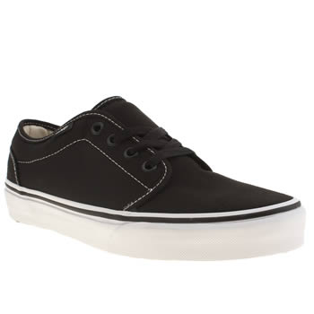 Vans Black 106 Vulc Trainers