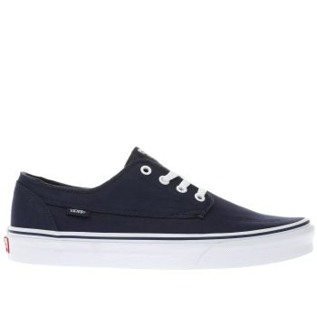 Vans Navy Brigata Mens Trainers