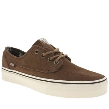 Vans Tan Brigata Trainers