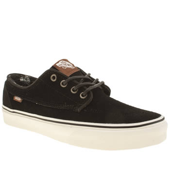 Vans Black Brigata Mens Trainers