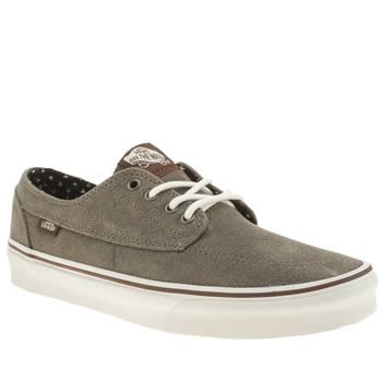 Vans Grey Brigata Trainers