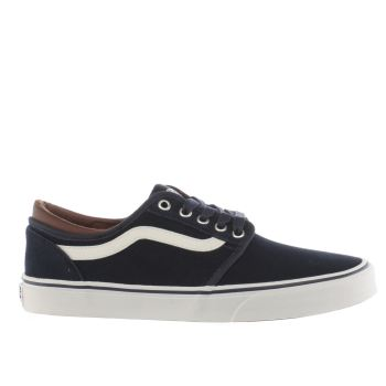 Vans Navy & White Cordova Trainers