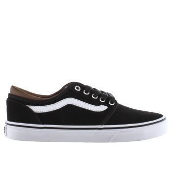 Vans Black & White Cordova Trainers