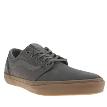 Mens Vans Dark Grey Lxvi Trig Trainers