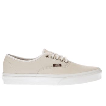 VANS STONE AUTHENTIC TRAINERS