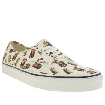 Vans Natural Drained & Confused Authentic Trainers