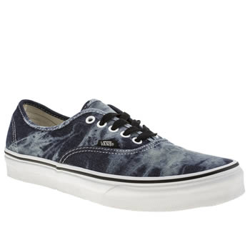Mens Vans Blue Authentic Trainers