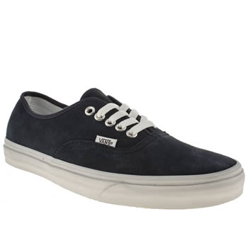 mens vans navy authentic trainers