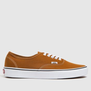 Vans Light Tan Cork Authentic Trainers
