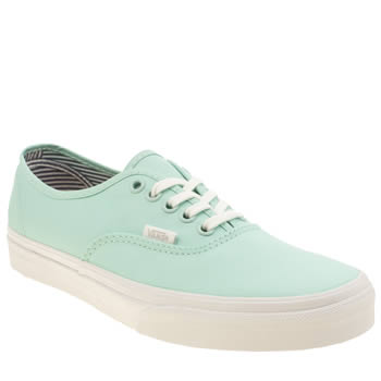Vans Light Green Authentic Deck Club Trainers