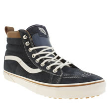 Navy Vans Sk8-hi Mountain Edition