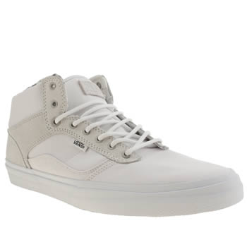 Mens Vans White Bedford Marble Trainers