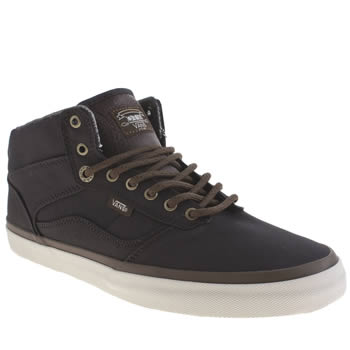 Mens Vans Grey Otw Bedford Trainers
