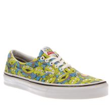 Vans Green Era Toy Story Aliens Mens Trainers