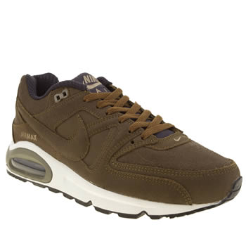 Nike Tan Air Max Command Trainers
