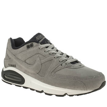 Mens Nike Grey Air Max Command Trainers