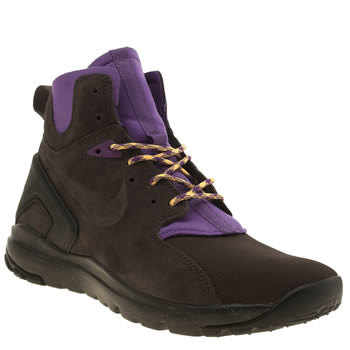 Nike Brown Koth Ultra Mid Trainers