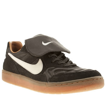 Mens Nike Black Tiempo 94 Low Trainers