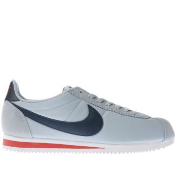 Nike Pl Blue & Red CLASSIC CORTEZ Trainers