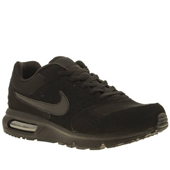 mens nike black air max solace trainers