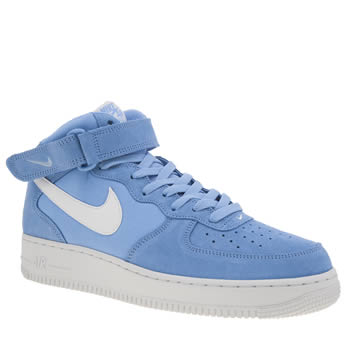 Nike Blue Air Force 1 Mid 07 Trainers